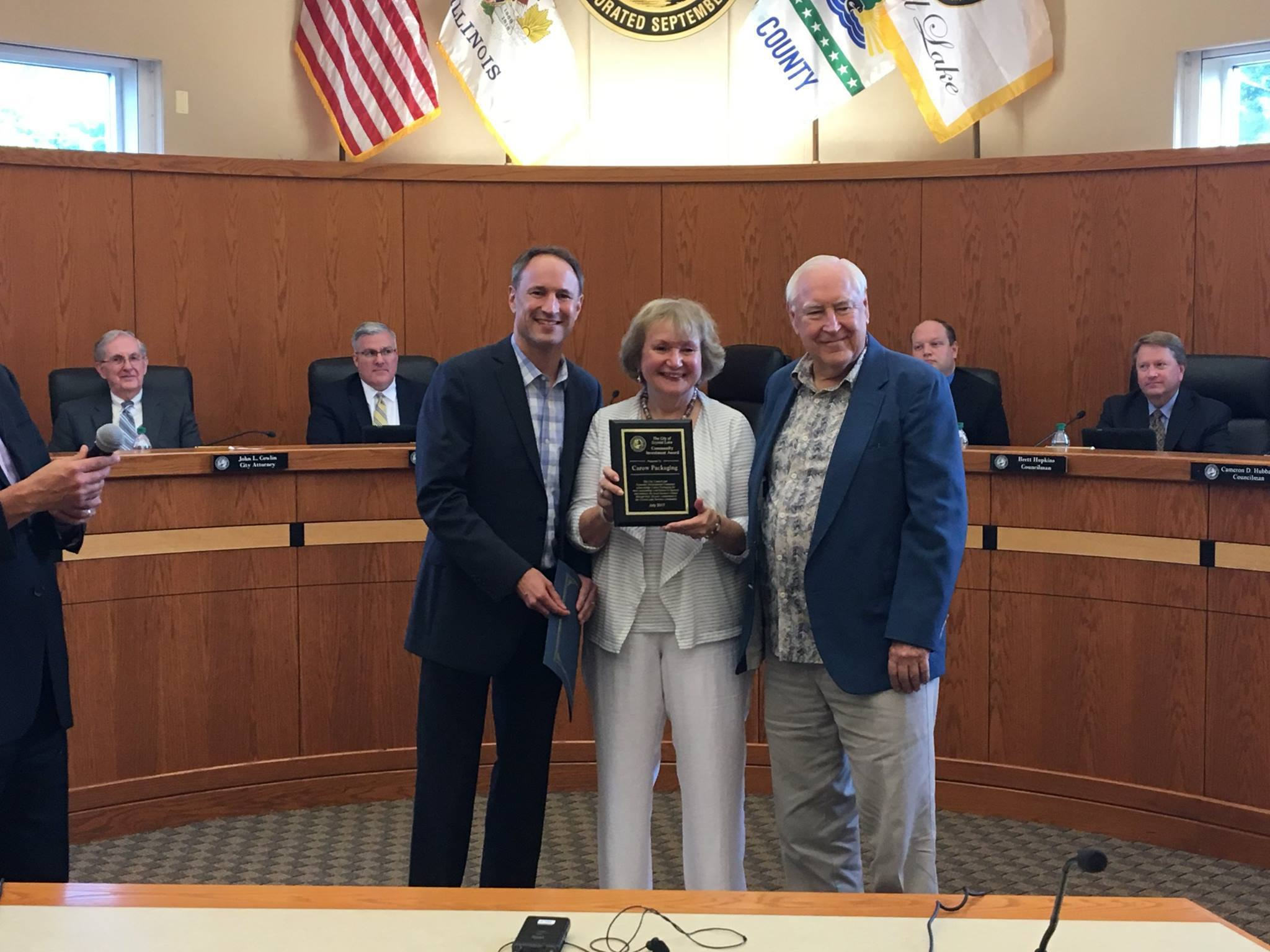 Carow city recognition