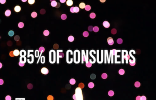 85% of Consumers